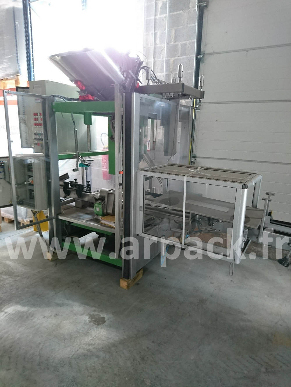 Screw capping machine Zalkin