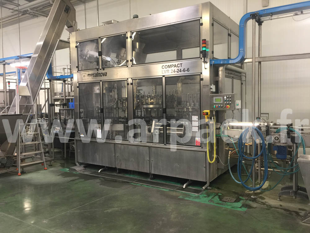 Bottling monobloc Metalnova