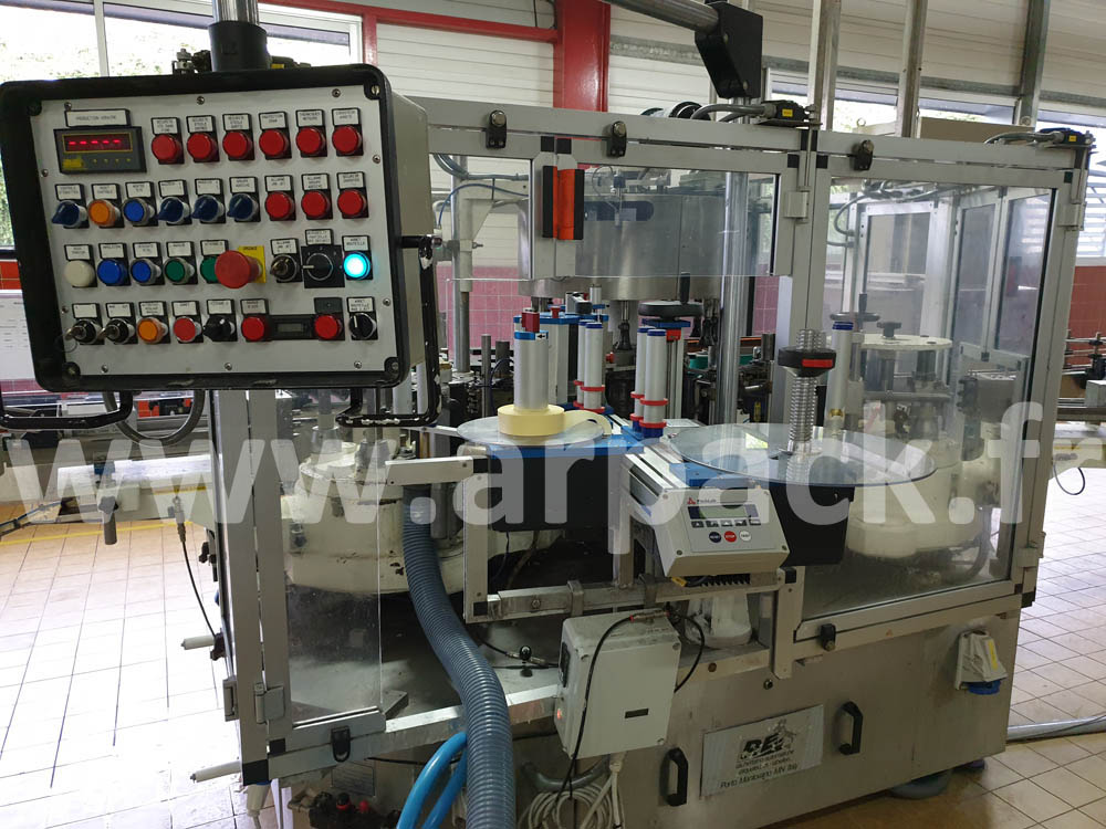 PE Omme glue labeling machine