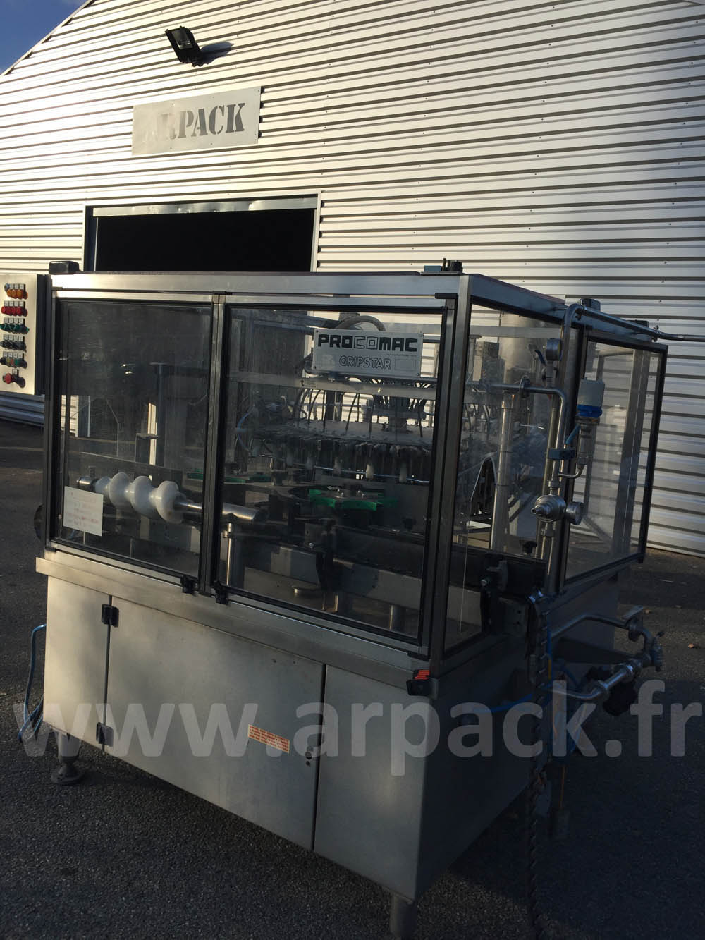 Used bottle's rinser Procomac