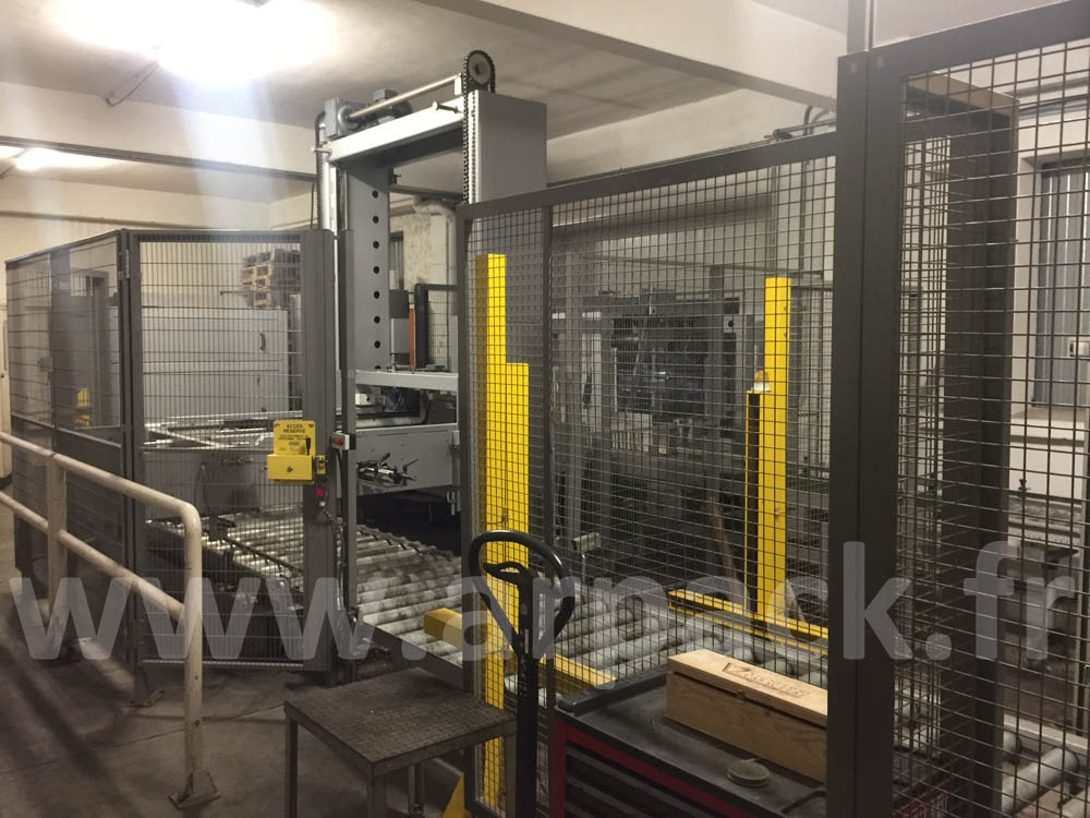 Used palletizer Cermex