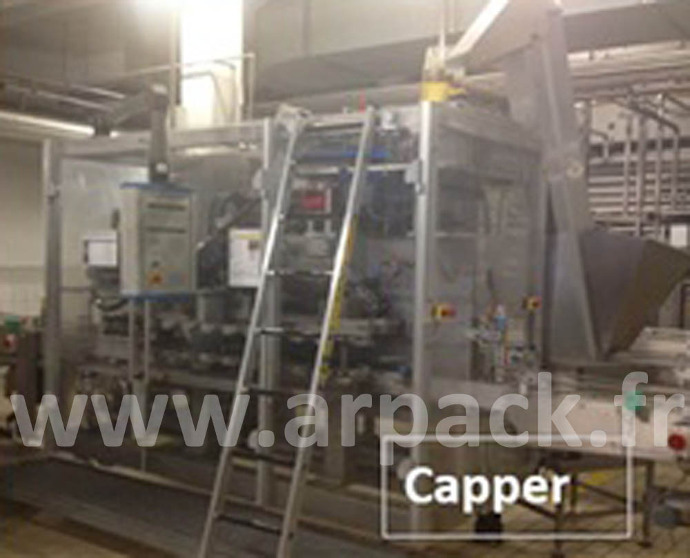 Aseptic filling line SIG Combibloc