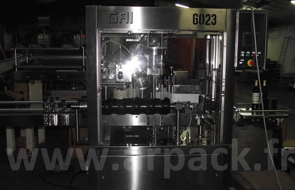 Сapsulling labelling machine GAI