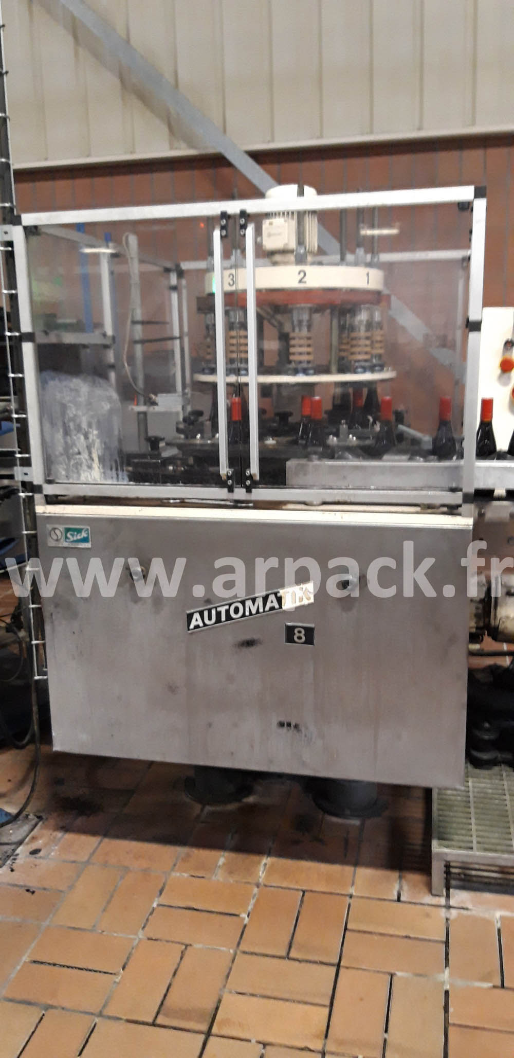 Used overcapping machine Sick