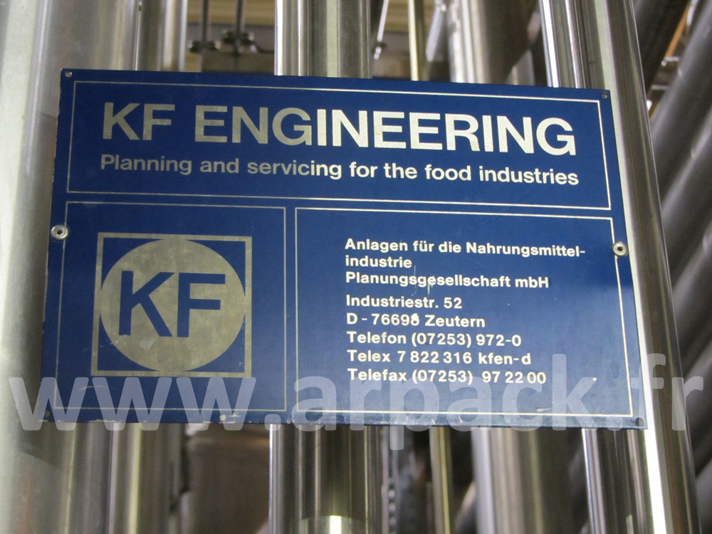KF juice pipe heater plant