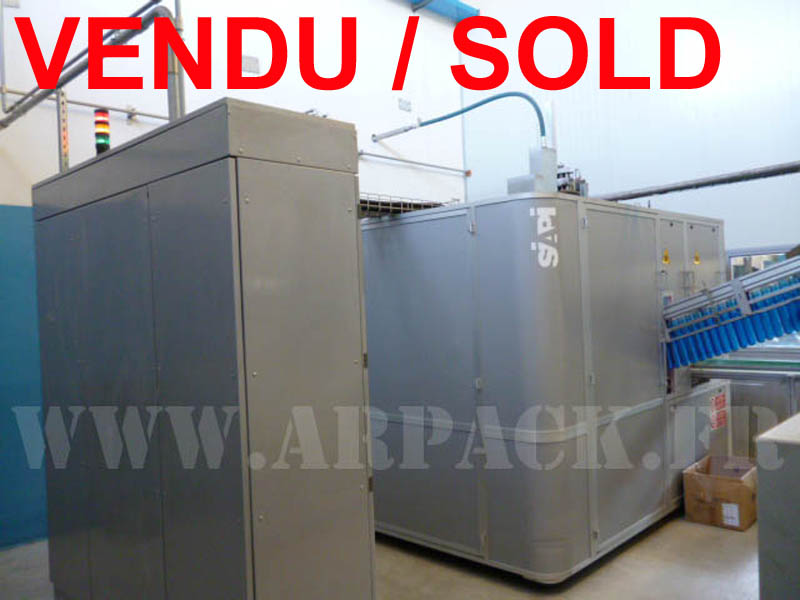 Used blow-moulding machine Siapi for 5 gallon bottles