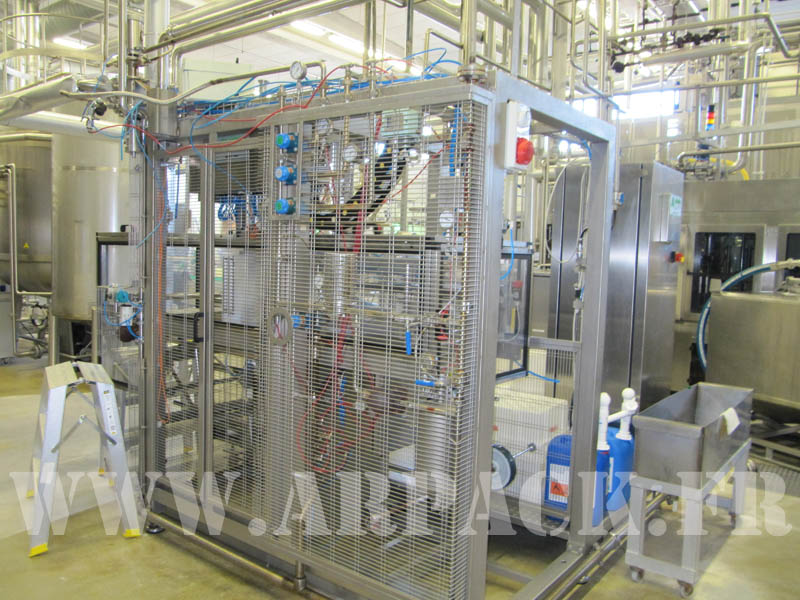 Second hand aseptic filler Astepo