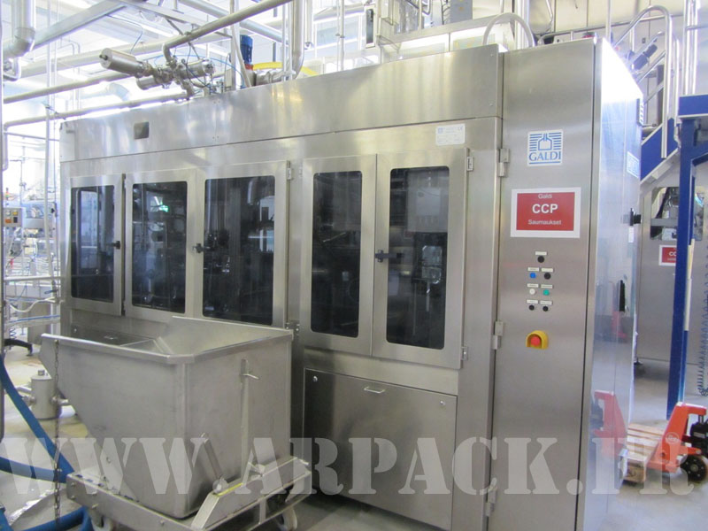 Used carton filler Galdi