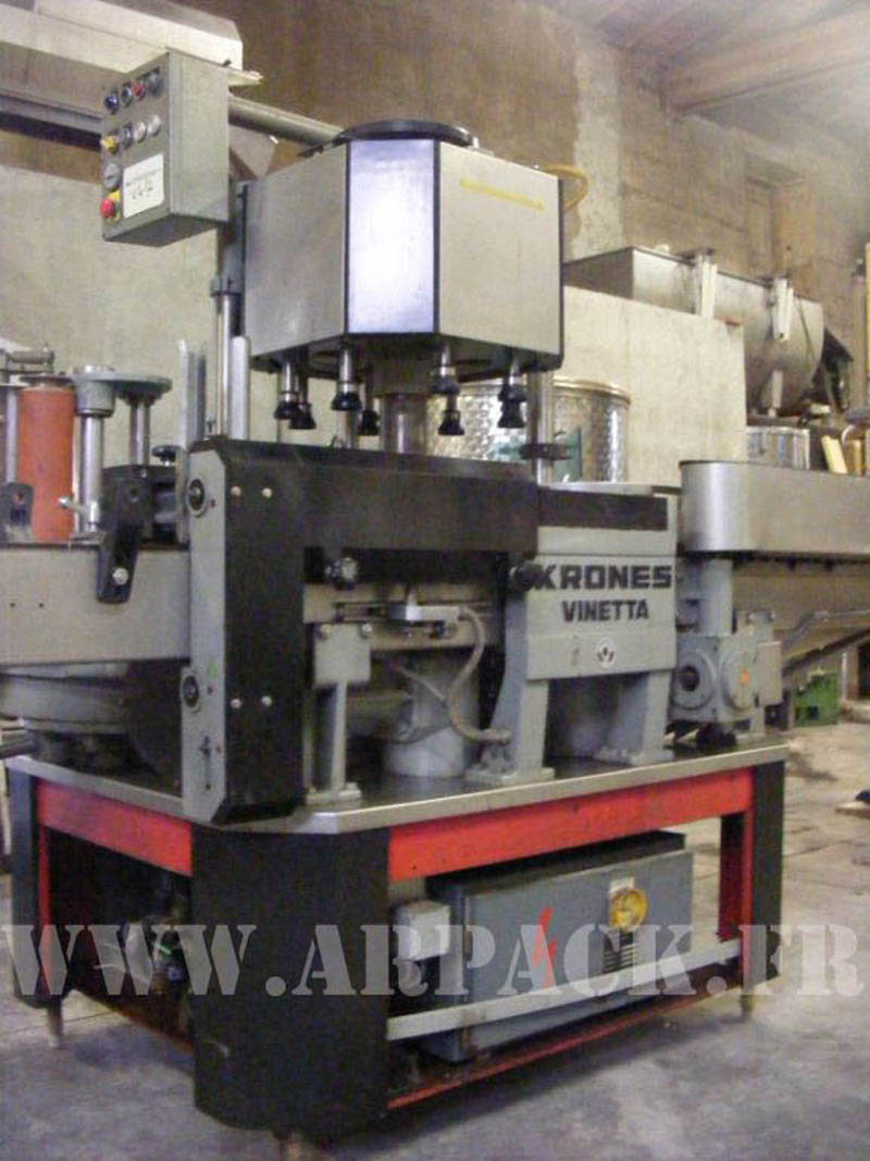 Krones Vinetta labeler