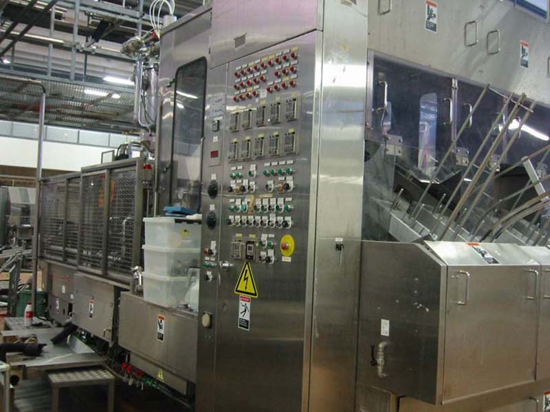 Used filling line for milk
