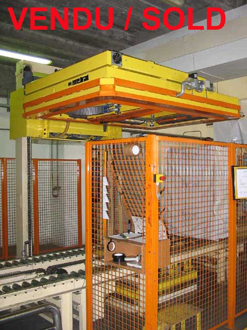 Used pallet wrapping machine - Shrinking frame Metral