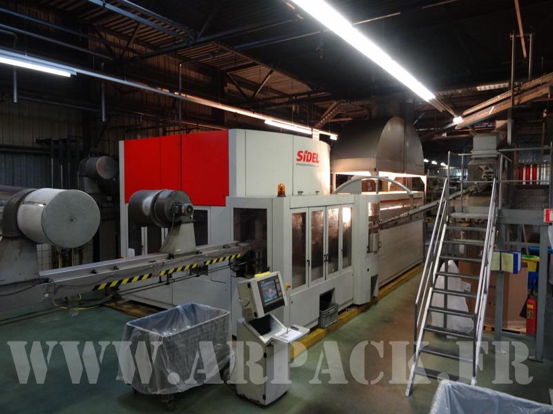 Used blow-moulding machine Sidel SBO16