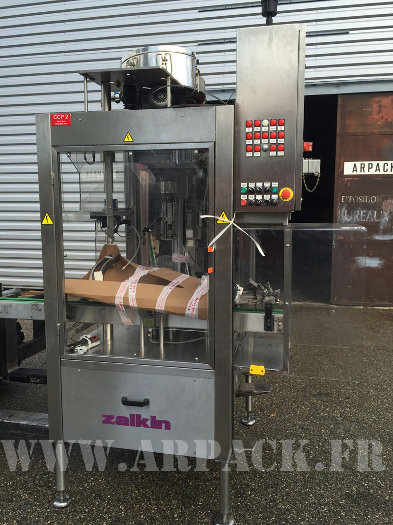 ROPP used screw capper Zalkin