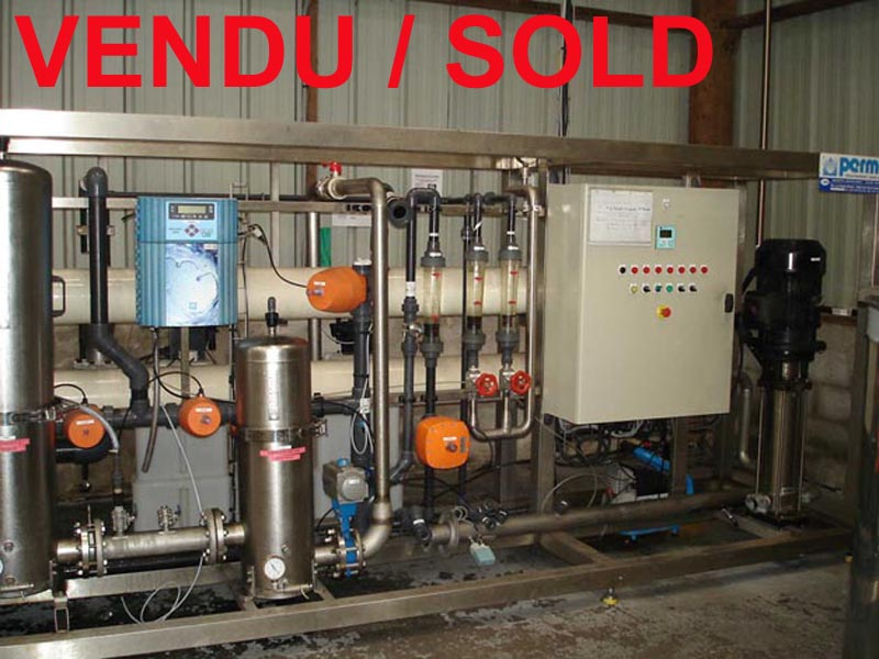 Used Osmos unit Permo