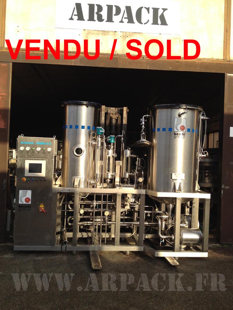 Used carbonator-mixer Berchi