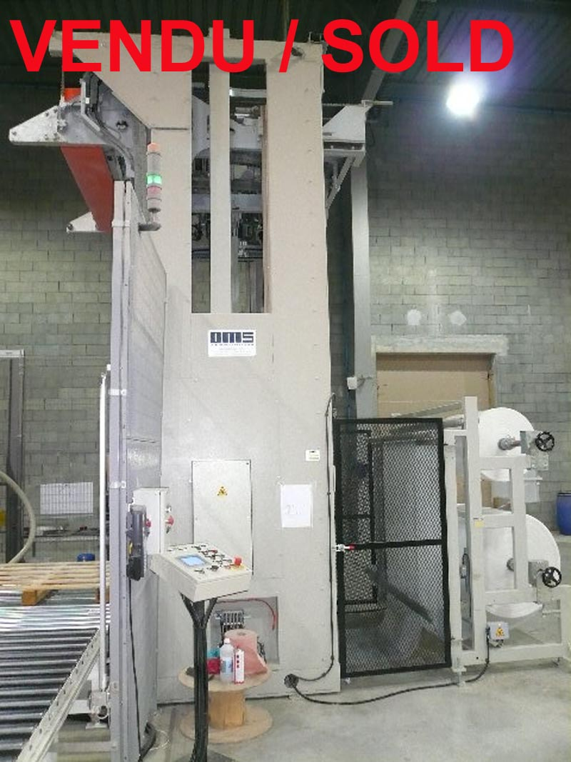 Pallet wrapping machine OMS