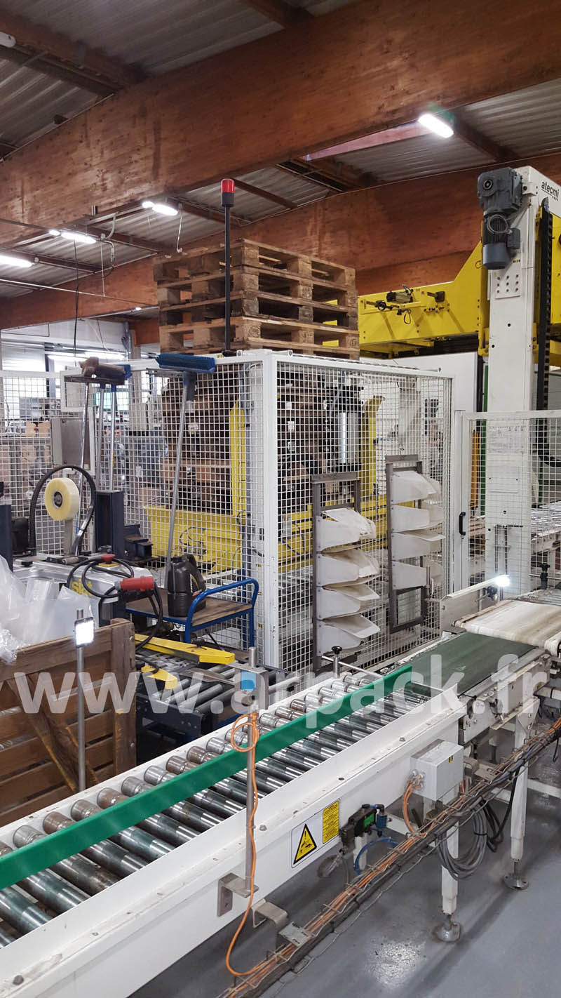 Palletizer to transfer layers Acmi Copal 5