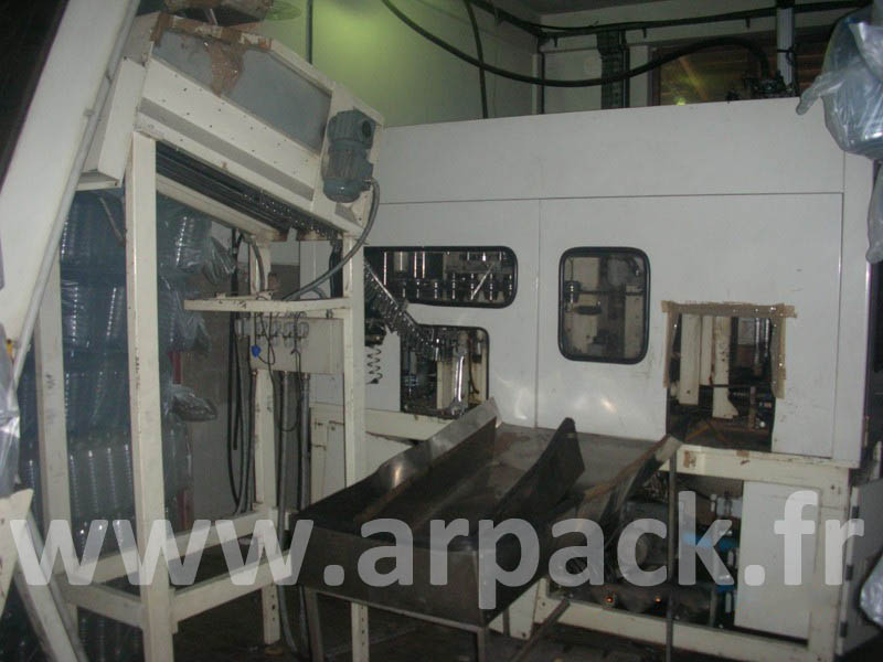 Blow-moulding machine SIAPI for PET 50 liter bottle
